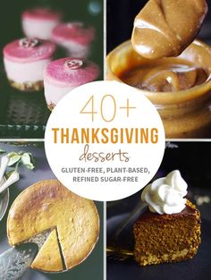40+ Thanksgiving Desserts via @audreysnowe