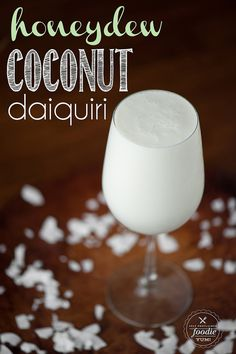 Honeydew Coconut Daiquiri | Self Proclaimed Foodie