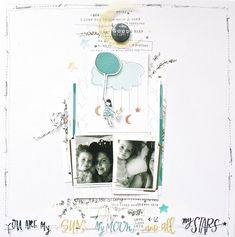 You are My Sun, My Moon, and all My Stars - Cocoa Daisy January Kit - Scrapbook.com