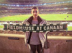 Where in the world is the Fieldhouse? At Yankee Stadium for #NYCFC #ChicagoFire #MLS match Sunday night! Thx JmanHaft #LoveTheGame