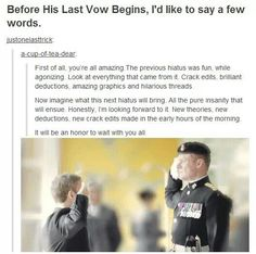 Exactly. Truer words cannot be spoken. Thanks fandom:-)