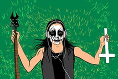 Finally, Someone Explains the Difference Between Black Metal and Death Metal