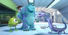 """Veja imagens do filme """"Monstros S.A."""", que volta aos cinemas em 3D"""