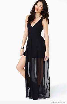Nasty gal night maxi dress