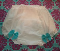 Monogrammed Bloomers by TheEmbroideryPalace on Etsy, $15.00