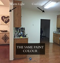 How fluorescent light fixtures can affect the paint color in a room. Online Colour Consultant and E-decor specialist Kylie M Interiors talks about lighting and paint colours.