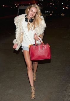 Candice Swanepoel's Best Model-Off-Duty Moments via @WhoWhatWear