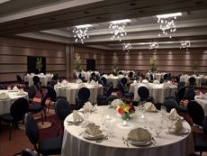 The ballroom ideal for your Tacoma wedding space.