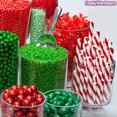Christmas Candy Buffet | Photo Gallery | CandyWarehouse.com Online Candy Store