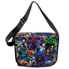 Marvel Heroes Messenger Bag - disneystore.com $29.50