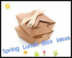 Spring Lunch Box Ideas