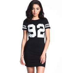 Sports Jersey Dress Love Culture ❤ liked on Polyvore featuring sport jerseys and sports jerseys