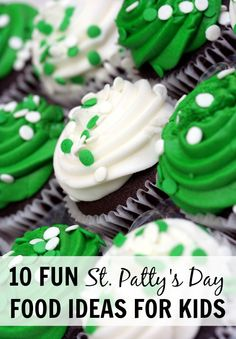 From rainbow waffles to shamrock pizzas, these fun food ideas will get your kids in the spirit for St. Patrick's Day!
