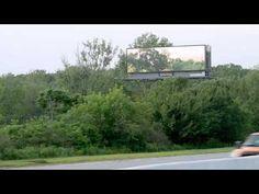 Temporary Art Installation Turns Interstate Billboards into Displays for Digital Art   Junkculture