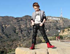 La Miniatura spring 2015 #boysfashion #jeffreysebelia #hollywoodsign