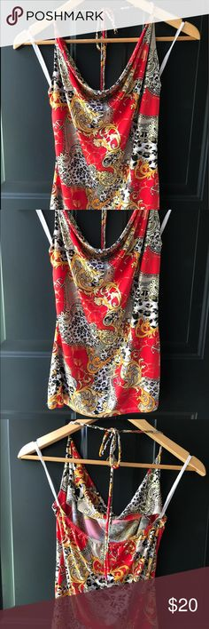 New Backless top Never used and beautiful Dots Tops