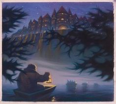 Mary Grandpre Art Harry Potter and the Sorcerer's Stone