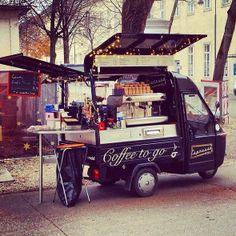 inspire dedesign...: Street coffee!  Latte Da Coffee Stand
