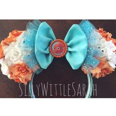Finding Nemo Inspired Mouse Ears by SillyWilltleSarah - she has several other Disney-inspired ears in her webstore.