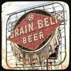 Grain Belt 5x5 Fine Art Photo by FriendlyMade on Etsy