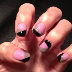 Nails I did with bio sculpture gel!