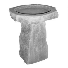 Glastonbury Manor Celtic Style Cast Stone Birdbath