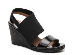 online retailer 25a4f 5ff47 Braylin Wedge Sandal Black Sandals, Calvin Klein, Wedges, Footwear,  Handbags, Clothes