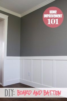 Home Improvement Hacks. - DIY Board and Batten - Remodeling Ideas and DIY Home I...