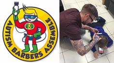 Barber Launches 'Superhero' Group to Help Give Kids With Autism Haircuts