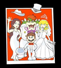 Super Mario Odyssey: Polaroid Photo by AlSanya on DeviantArt