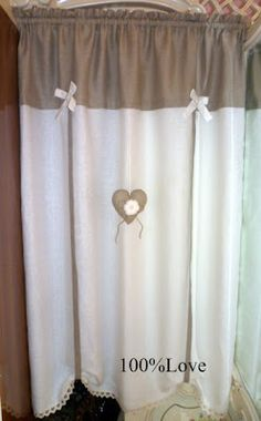 1000 images about tende on pinterest curtains valances and window treatments - Tende bagno country ...