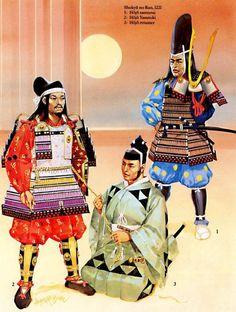 Angus McBride - Samurai de la guerra de Shokyu, 1221