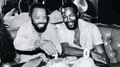 Berry Gordy & Marvin Gaye Mr Personality, Berry Gordy, Milton Berle, Marcus Garvey, Prince, Jerry Lewis, Laurence, Marvin Gaye, Marilyn Monroe Photos