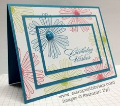 Triple Time Stamping Tutorial – STAMP WITH BRIAN
