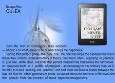 #NATASAALINACULEA #WRITERS #DREAMSNEVERSLEEP #QUOTE #BOOKS