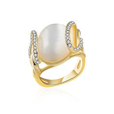 * Penny Deals * - Angelady Opal Ring for Anniversary Birthday Wedding for Women Girls Lady (Yellow Gold 8) * You can find out more details at the link of the image.
