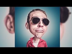 How to Create a Caricature From a Photo   Photoshop Tutorial - YouTube
