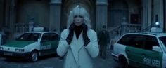 New party member! Tags: winter cold charlize theron sweater atomic blonde cover up turtleneck
