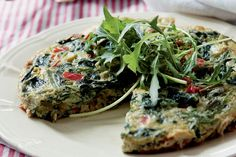 Lækker grøn omelet