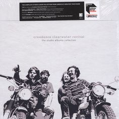 Creedence Clearwater Revival - Studio Album Collection - Ltd. Creedence Clearwater Revival, Rock Bands, Album Covers, Studio, Collection, Craft, Products, Creative Crafts, Crafting