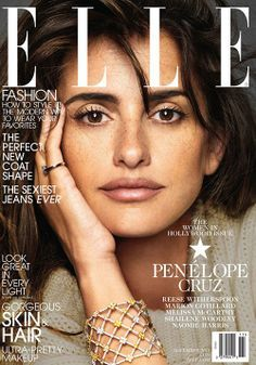 Elle's Women in Hollywood issue featuring separate covers with Penelope Cruz, Melissa McCarthy, Reese Witherspoon and Shailene Woodley Penelope Cruz, Fashion Magazine Cover, Fashion Cover, Magazine Covers, Women's Fashion, Melissa Mccarthy, Spanish Actress, Marion Cotillard, Elle Magazine