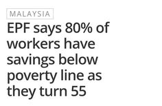 You are not fated to live in poverty during retirement. Power is in your hands! Ask NickG for help.  #financialfreedom  #financialsecurity #retirementplanning  #retirement #financialplanning  #financialplanningmalaysia #money #finance #actionplan