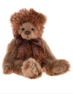 Bampa by Charlie Bears Teddy Edwards, Charlie Bears, Bear Paws, Cute Bears, Plush, Vintage, Teddy Bears, Sweet Sweet, Popcorn