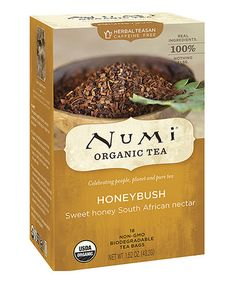 For Tanya $3.99 Another great find on #zulily! Honeybush Tea by Numi Organic Tea #zulilyfinds