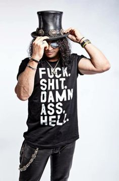 How the hell does Slash find these shirts? Guns N Roses, Saul Hudson, El Rock And Roll, Duff Mckagan, Music Beats, Heavy Metal Rock, Slash, Axl Rose, Rock Legends