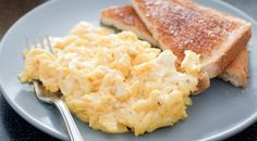 How to Make Perfect Scrambled Eggs:   Given all of the options we have to eat really lousy food, eggs shine as a fast, easy, cheap protein option. I always choose an organic egg option - adding flavor and avoiding animal cruelty and antibiotics. Everything else you need to know is in this great little article!