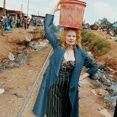 This is not charity, this is work' ~ Vivienne Westwood is producing some of her clothing line in Kenya and providing jobs for locals, as a part of the Ethical Fashion initiative #VivienneWestwood #EthicalFashion #AdornCosmetics