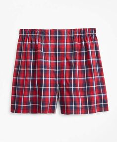 Our Traditional fit boxer is crafted from pure cotton broadcloth and features our signature one-piece back that contours to the body for comfort. American Eagle Boxers, American Red Cross, Mens Flannel, Yellow Fashion, Logo Color, Navy Pink, Brooks Brothers, Patterned Shorts, Guys Underwear
