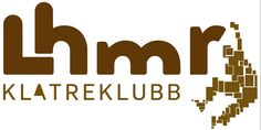 """Logo for Lillehammer Climbing Club. The idea behind """"Lhmr"""" was  to mimmick boulder stones"""