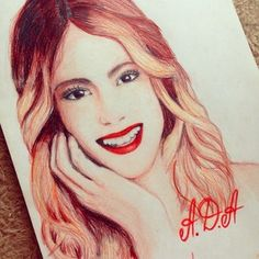 #Tini Mercedes Lambre, Normal Girl, Celebrity Drawings, Son Luna, Disney Channel, Erotic Art, Selena, Famous People, To My Daughter